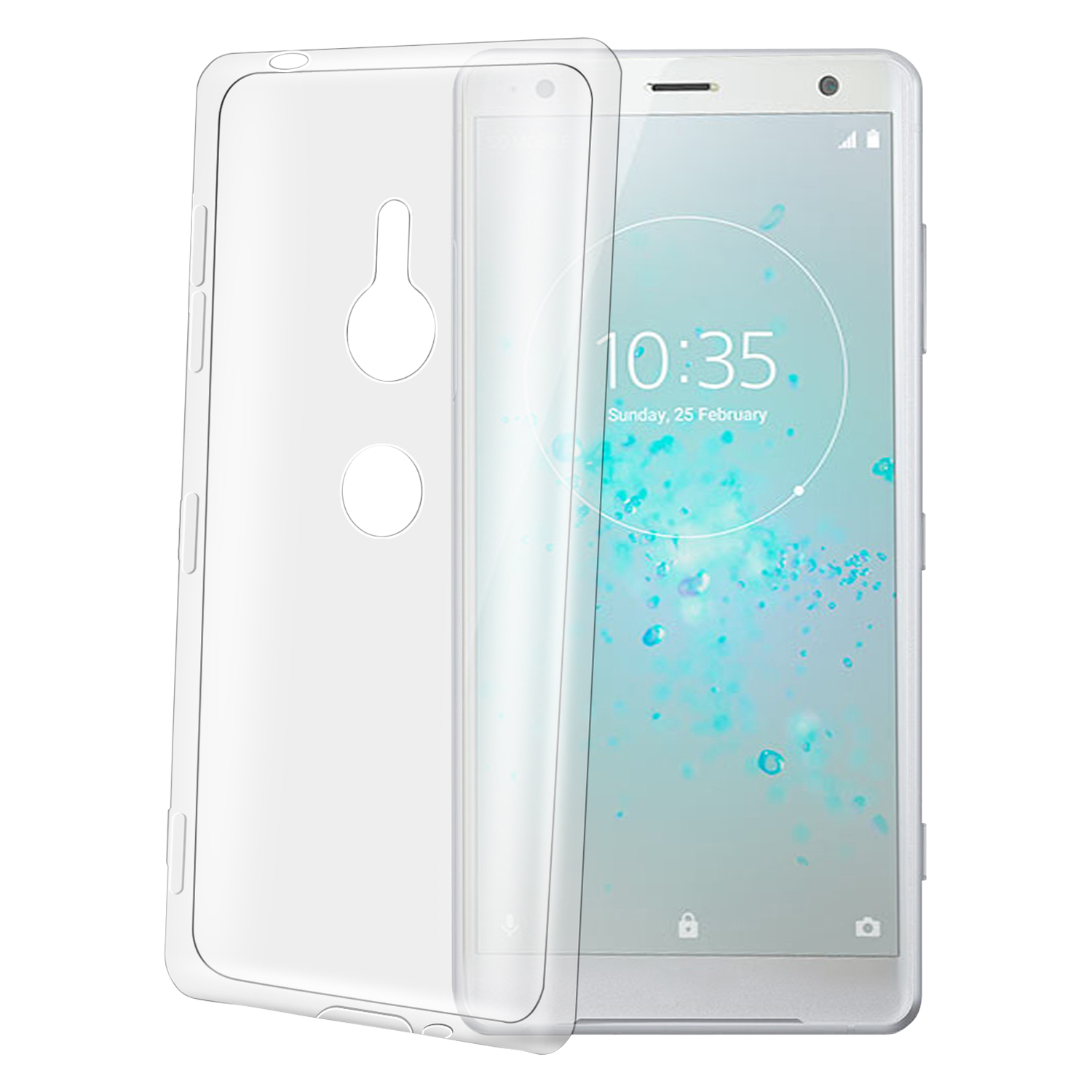 TPU Case für Sony Xperia XZ2 Backcover Cover & Fashion Produkte