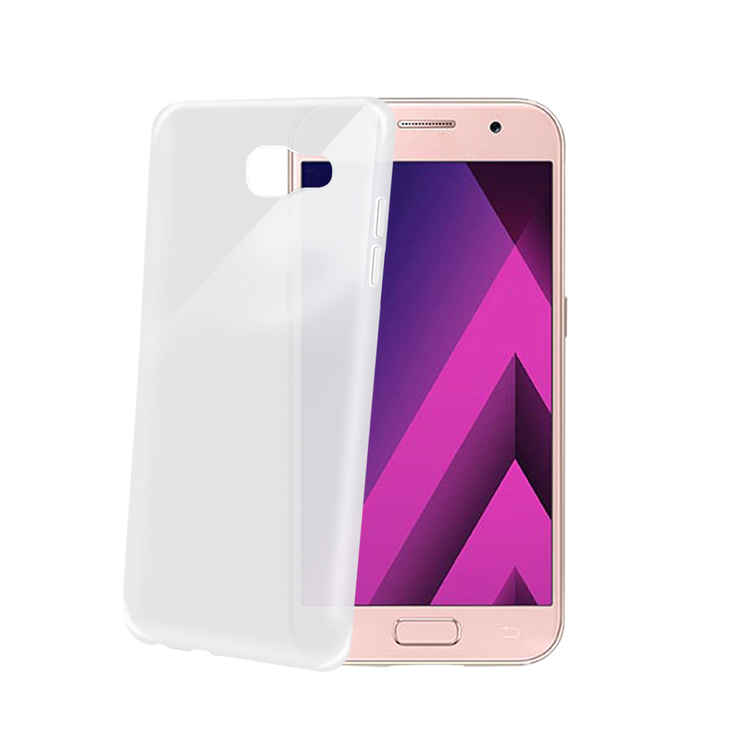 backcover frost f r samsung galaxy a3 2017 backcover. Black Bedroom Furniture Sets. Home Design Ideas