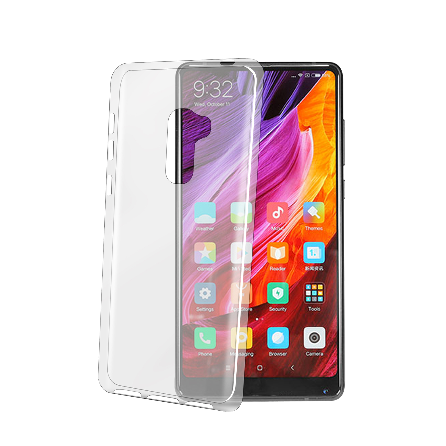 TPU Case für Xiaomi MiMix2 Mix Evo Backcover Cover & Fashion Produkte